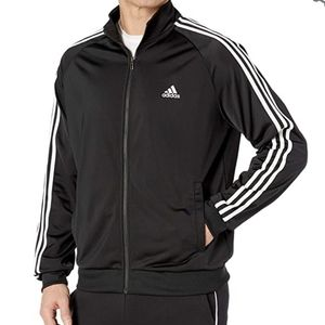 NWOT! Adidas 3-Stripe Retro Zip Up Track Jacket